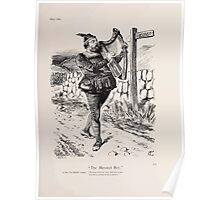 Cartoons by Sir John Tenniel selected from the pages of Punch 1901 0129 The Minstrel Boy Poster