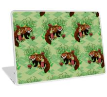 Red Panda Friend Laptop Skin
