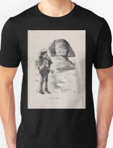 Cartoons by Sir John Tenniel selected from the pages of Punch 1901 0061 Mose in Egitto Unisex T-Shirt