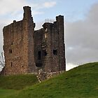 Brough Castle by Chris Monks