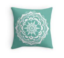 Geometric Mandala  Throw Pillow