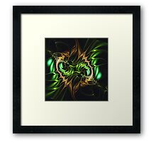 Emerald Shine Framed Print