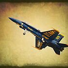 U.S. Navy Blue Angel by golfnut10