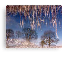 River Lune Reflection. Cumbria, England. Canvas Print