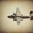 B - 25J Bomber by golfnut10