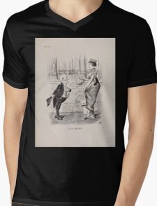 Cartoons by Sir John Tenniel selected from the pages of Punch 1901 0187 Good Wishes Mens V-Neck T-Shirt