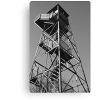 Watchtower overlooking the Mississippi Canvas Print