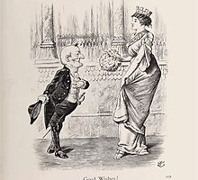 Cartoons by Sir John Tenniel selected from the pages of Punch 1901 0187 Good Wishes by wetdryvac