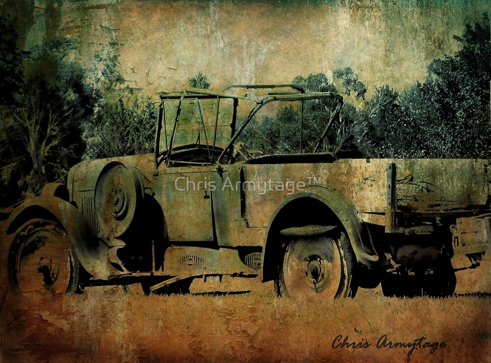 Abandoned - Lost in the past by Chris Armytage™