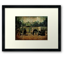 Abandoned - Lost in the past Framed Print