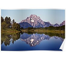 Mount Moran And Snake River Poster