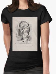 Cartoons by Sir John Tenniel selected from the pages of Punch 1901 0155 A Turkish Bath Womens Fitted T-Shirt