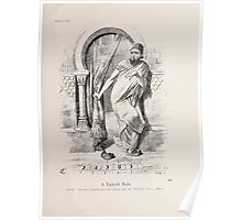 Cartoons by Sir John Tenniel selected from the pages of Punch 1901 0155 A Turkish Bath Poster