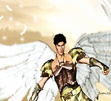 Guardian Angel: Colored Version by Junior Mclean