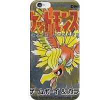 Pokemon Gold  iPhone Case/Skin