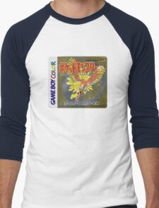 Pokemon Gold  Men's Baseball ¾ T-Shirt