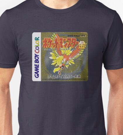 Pokemon Gold  Unisex T-Shirt