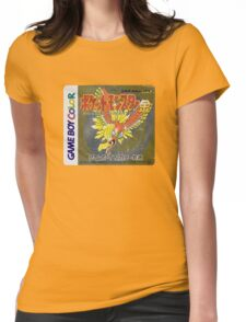 Pokemon Gold  Womens Fitted T-Shirt