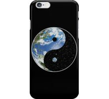 Earth / Space Yin Yang Symbol iPhone Case/Skin