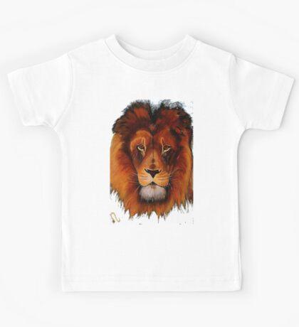 Unique painted lion Kids Tee
