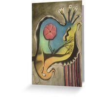 wierd creature Greeting Card
