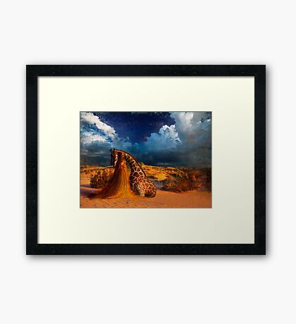 Compassion's Might Framed Print