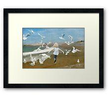 I'm like a bird Framed Print