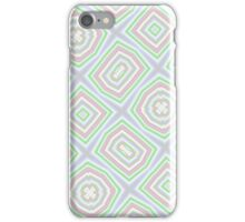 Light colored abstract pattern iPhone Case/Skin
