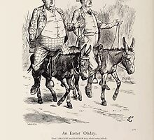 Cartoons by Sir John Tenniel selected from the pages of Punch 1901 0146 An Easter 'Oliday by wetdryvac