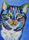 Blue Cat by Karin Zeller