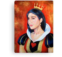 Queen of Hearts Canvas Print