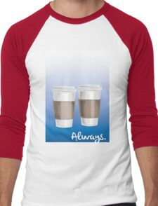 ALWAYS - a Castle celebration (with coffee) Men's Baseball ¾ T-Shirt