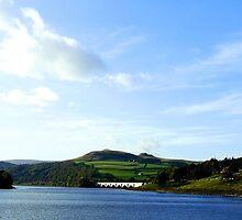 Lady Bower Dam, Resevoir, Sheffield, Yorkshire by Peteyd