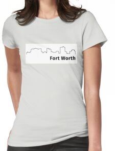 Fort Worth Womens Fitted T-Shirt