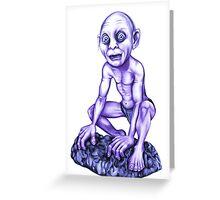 Gollum's T-shirt Greeting Card