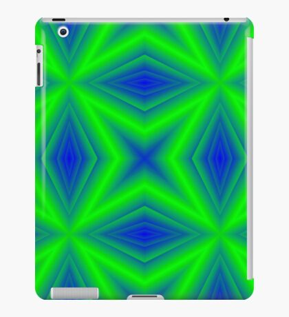 Two colored line pattern iPad Case/Skin
