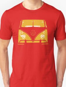 VW Kombi Yellow Design T-Shirt