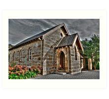 Chapel At Edinglassie Village (2), Emu Plains, NSW, Australia Art Print