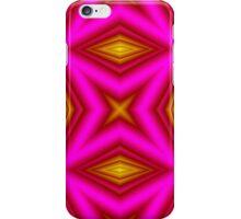 yellow purple line iPhone Case/Skin
