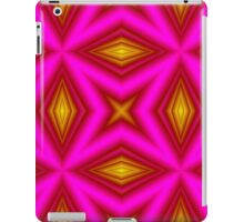 yellow purple line iPad Case/Skin