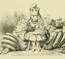 Through the Looking Glass Lewis Carroll art John Tenniel 1872 0218 What am I to do by wetdryvac