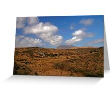 A Donegal Landscape Greeting Card
