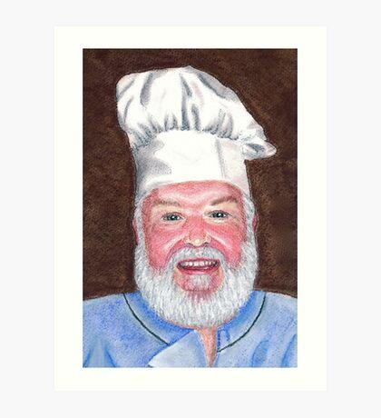 Chef Brian Art Print
