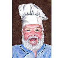 Chef Brian Photographic Print