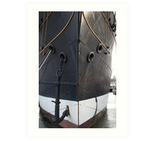 South Street Seaport Ship Art Print