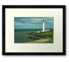 Scurdie Ness Lighthouse  Framed Print
