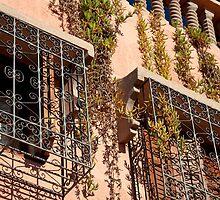 Marrakesh windows by Kerry Dunstone