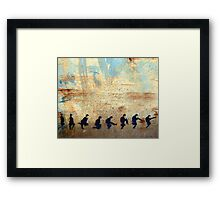 Ministry of Silly Walks Framed Print
