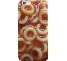Hoops, Hoops, Glorious Hoops - Spaghetti Hoops iPhone Case/Skin