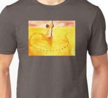 fisherman in the desert Unisex T-Shirt